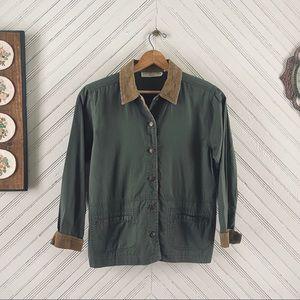 Vtg Safari Button Down Shirt